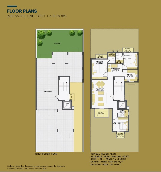 3BHK+3T+Family Lounge